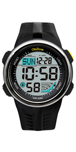 teen boys digital sports watch