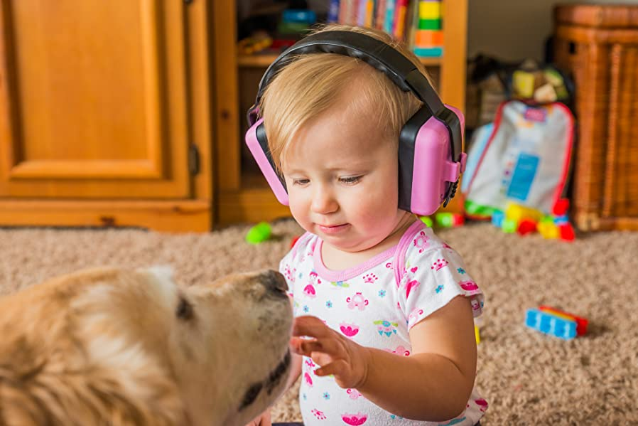 Super Little Llama Baby 6 months to 4 years old Hearing Protection Ear Muffs