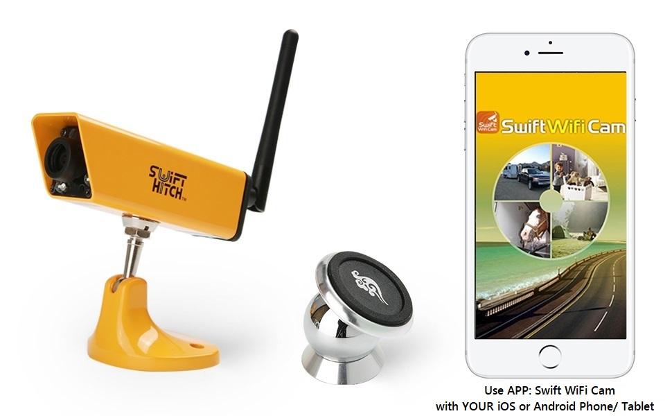 Swift Hitch SH04 Wireless Battery Backup Camera System