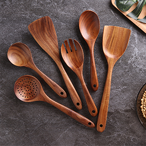 assemble your kitchen with new furnished nayahose wooden utensils