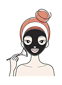 Amazon Com Activated Charcoal Mud Mask 8 8 Fl Oz For