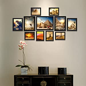 multi picture frame give you a freedom to display what you want and create a stylish picture frame gallery classic black picture frames complements any - Multiple Photo Frame
