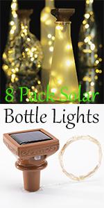 solar bottle lights