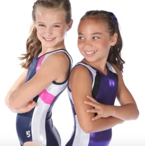 72a3a8d86 Amazon.com  k-Bee Leotards Sale Girl s Cherry Baby Gymnastics ...