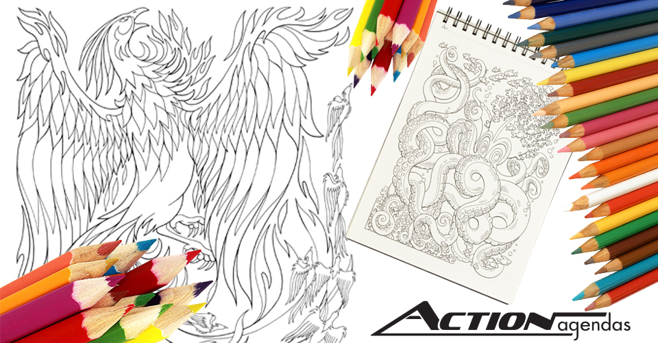 Amazon.com: Action Publishing Coloring Book: Mythical Enchantments ...