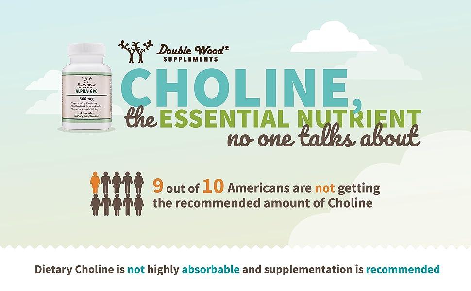 alpha gpc choline essential nutrient