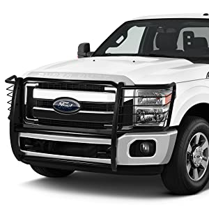 Mild Steel Front Bumper Headlight//Grille Brush Guard for 11-16 Ford F250//F350//F450//F550 Super Duty