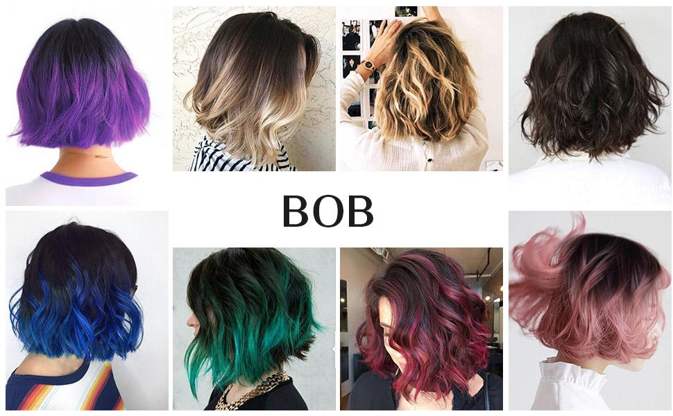 Amazon Fashion Line 4 Human Hair Bundles With Lace Closure Bob