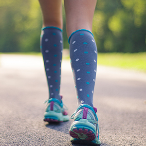 26f77c8202 What if a beautiful pair of socks could help you power through your day?  Stylish high-performance compression socks.