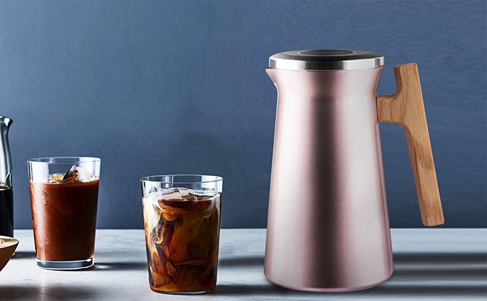 keep cold, cold drink, cold brew, iced coffee, sdream coffee carade, 1l coffee carafe
