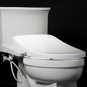 bidet toilet led