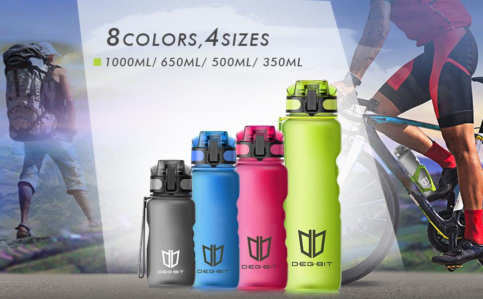 8 colors, 4 sizes