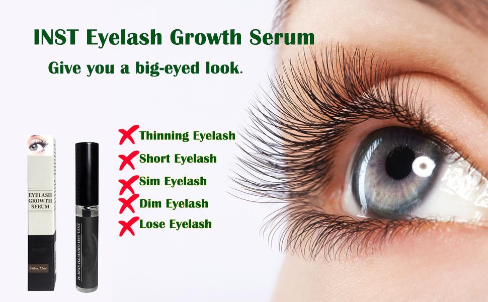 Amazon Inst Eyelash Growth Serum Natural Eyelash Growth