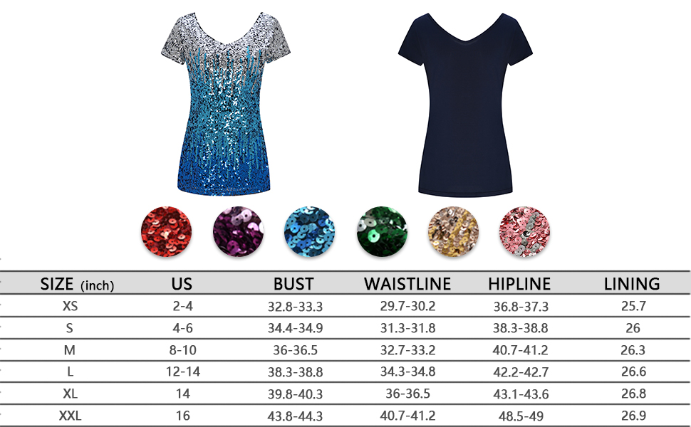 Metme Women's Shimmer Loose Cap Sleeve Tank Top Gradient Sequin Embellished Vest Glitter Party Club