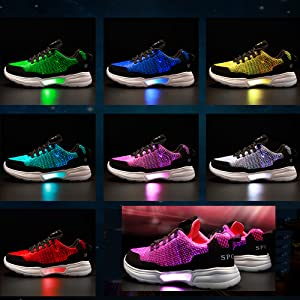 multi modes light up shoes