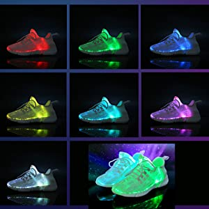 11 modes light up shoes