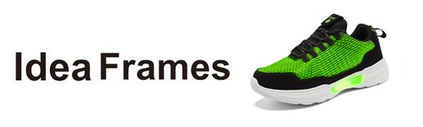Fiber Optic LED light up shoes luminous sneaker