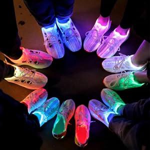idea frames led shoes