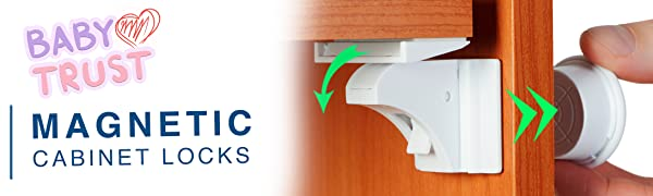 baby proofing cabinets child safety magnetic latches drawer