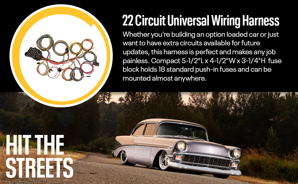 antique car wire harness wiring diagramsantique car wire harness wiring diagram amazon com 22 circuit universal street rod wiring harness wantique