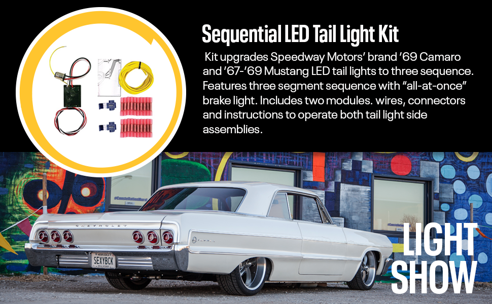 Amazon.com: Sequential LED Tail Light Kit, w/Detailed Instructions on 1966 mustang tail lights, 1968 mustang tail lights, 1985 mustang tail lights, 1979 mustang tail lights, 1967 mustang battery, 1967 mustang hub caps, 70 dodge challenger tail lights, 1967 mustang clutch, 1967 mustang window trim, 1967 mustang turn signals, 1967 mustang custom grille, 1969 mustang tail lights, 1958 thunderbird tail lights, 1982 mustang tail lights, 1981 mustang tail lights, 1964 mustang tail lights, 1977 mustang tail lights, 1970 mustang tail lights, 1967 mustang dash lights, 1967 mustang mirrors,