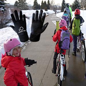 Winter School Cycling Gloves Kids