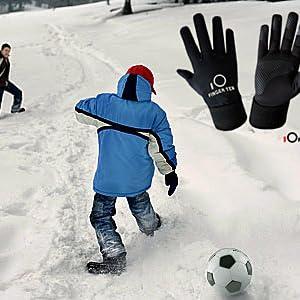 Winer Soccer Gloves Kids Boy Girl
