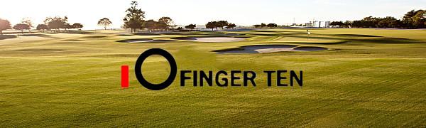 Finger Ten Golf Club Bag Carrier Mini Driving Range Carry