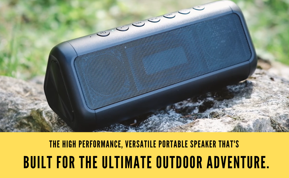 Solar Speaker Bluetooth Waterproof Wireless Charge Power Bank Portable Charger And Speaker Pool