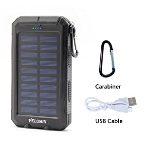USB battery pack for camping