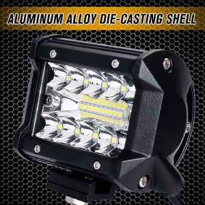 Another angle of the led light bar (off road lights) showing its aluminum alloy die-casting shell