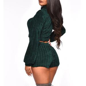 e98d65b288 Amazon.com  Misassy Womens Sexy Velvet 2 Piece Club Outfits Corduroy ...
