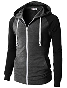2040a80fa582 H2H Mens Casual Fashion Active Jersey Slim Fit Hoodie Zip-Up at ...