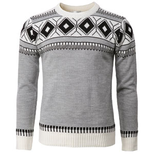 e0067fb05e05 H2H Mens Casual Slim Fit Knitted Pullover Sweaters Thermal of ...