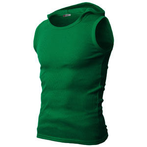 ac41eed696759a  JPSK05 - Mens Active Wear Slim Fit Hooded Sleeveless T-shirts with Various  Colors