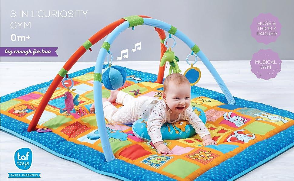 Amazon Com Taf Toys Curiosity Activity Gym Tummy Time