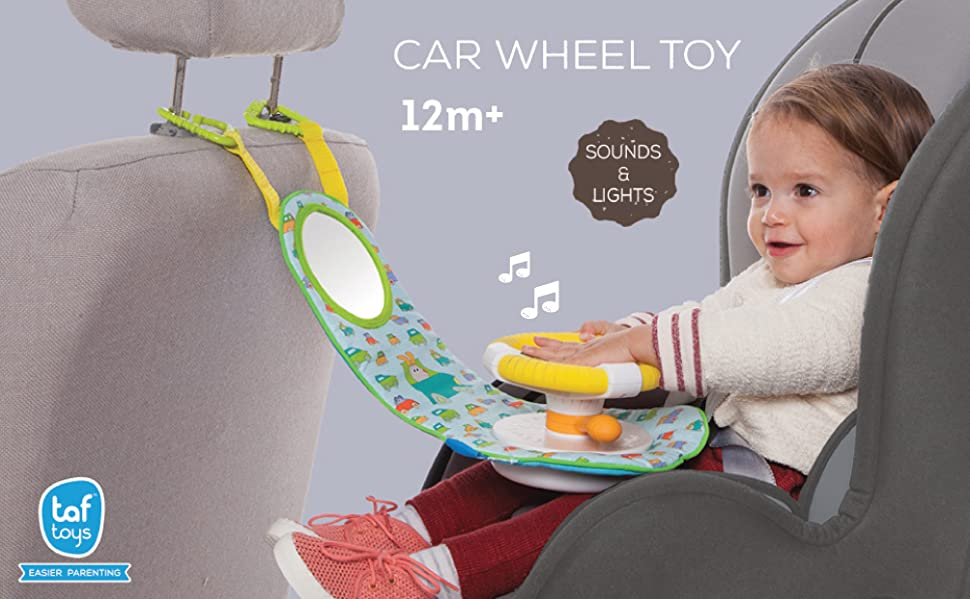 Amazon.com : Taf Toys Car Wheel Toy : Early Development Playmats : Baby