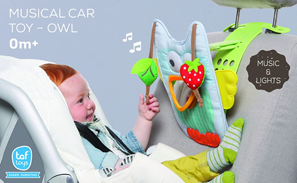 The Musical Car Toy Owl Is An Innovative Activity Center Which Has Been Especially Designed To Entertain Babies Travelling In A Rear Facing Seat