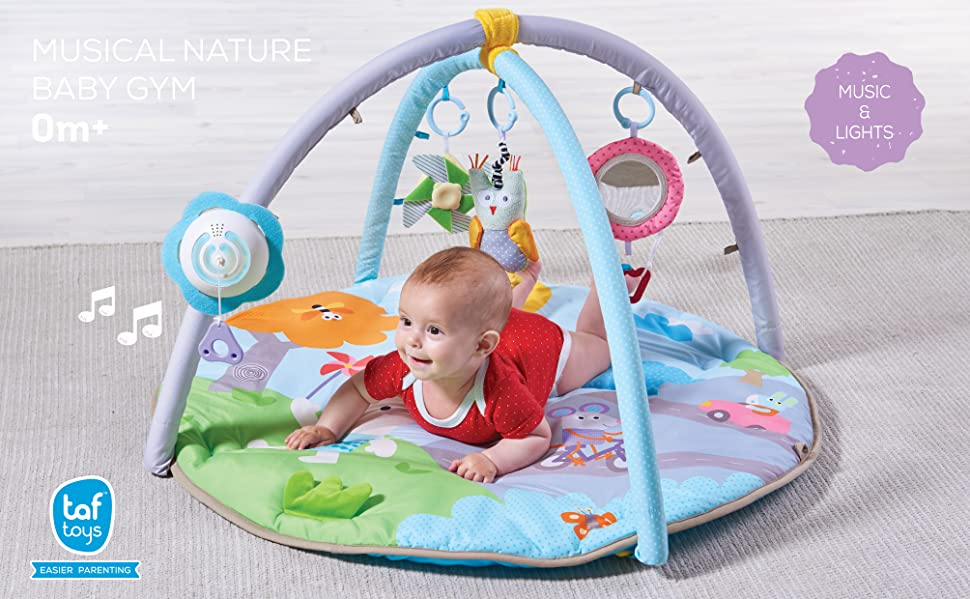 Amazon Com Taf Toys Baby Play Gym Thickly Padded Soft Play Mat