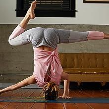 yoga leggings activewear compression Gaiam pants capri tights