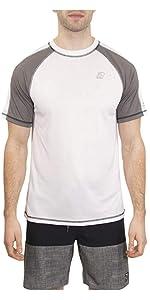 mens short sleeve rashguard