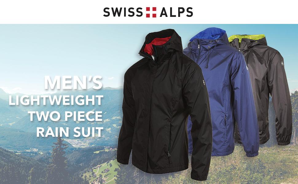 Amazon.com: Swiss Alps - Traje de 2 piezas para hombre ...