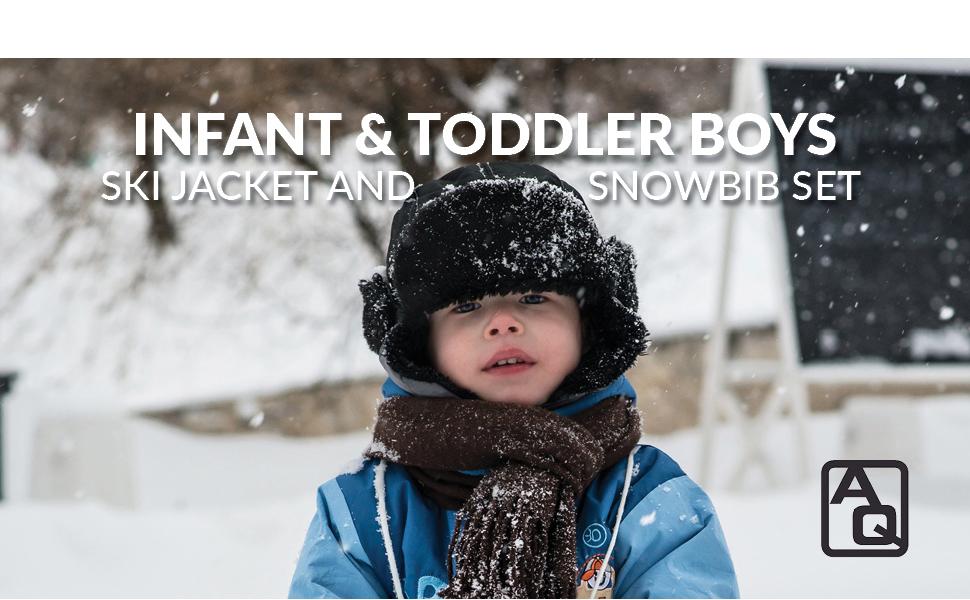 cd2e6ed80d59 Amazon.com  Arctic Quest Infant   Toddler Boys Ski Jacket and ...