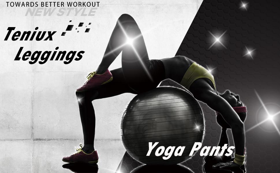 Amazon.com: Teniux - Pantalones de yoga para mujer ...