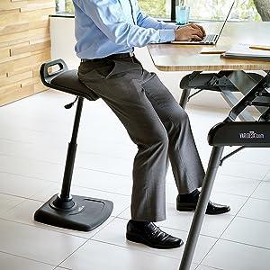 Amazoncom VARIDESK Adjustable Standing Desk Chair VARIChair