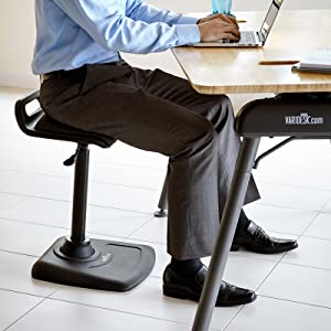 designed to engage your leg back and core muscles the varichair gives you the freedom to move throughout your day letting you stay active while seated or