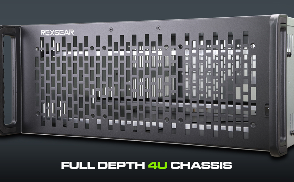 Full Depth 4U Server Case