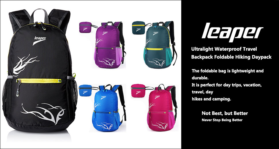 1ce2ddc387e1 Amazon.com   Leaper Outdoor Ultralight Waterproof Travel Backpack ...