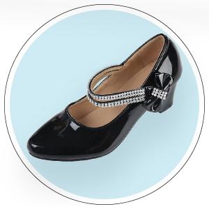 6ba73b1abce Amazon.com  First Communion Girls Dress Shoes Sparkly Mary Jane ...
