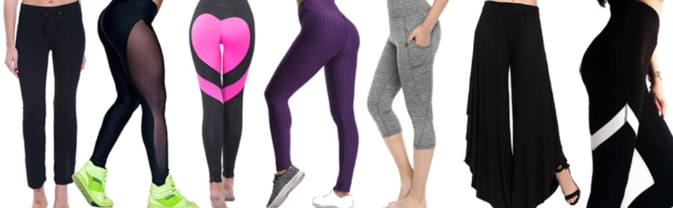 bf4093cc1f87c3 FITTOO High Waisted Seamless Yoga Pants Gym Workout Leggings for ...